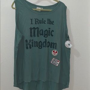 NWT Magic Kingdom Tank Womens Plus Size XXL